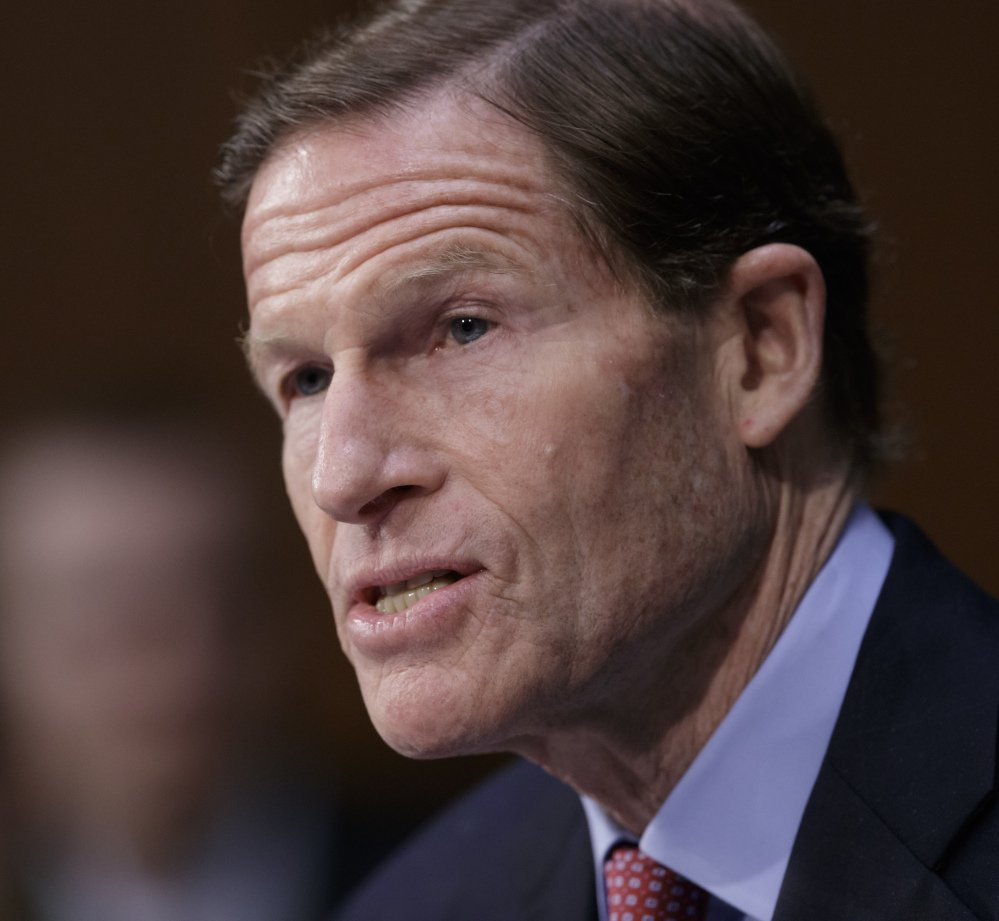 Sen. Richard Blumenthal, D-Conn., served in the Marine reserves in the United States during the Vietnam conflict.