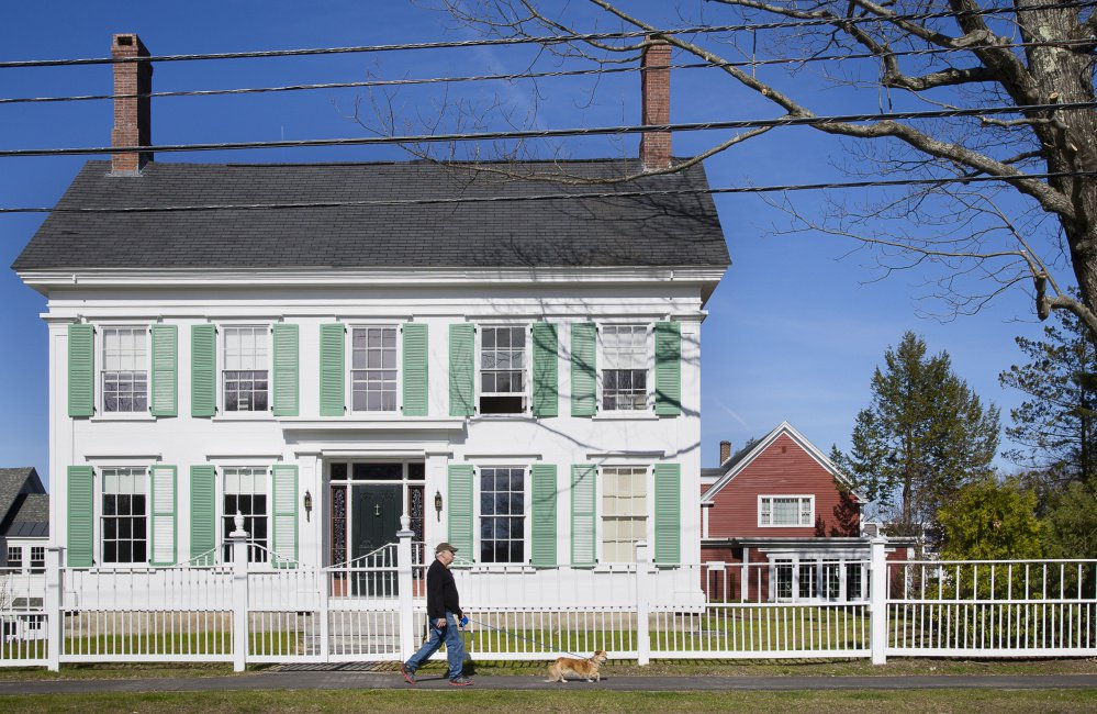 "Another noteworthy residence associated with the abolitionist writer is the historic Harriet Beecher Stowe House on Federal Street in Brunswick, Maine, where she wrote a portion of ""Uncle Tom's Cabin."" The home is now owned by Bowdoin College."