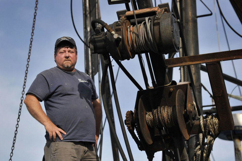 Portland-based shrimper Dana Hammond worked with scientists this summer to collect data on the fishery. The findings, which will be available in late October, will help determine if the shrimp fishery will reopen in 2018.