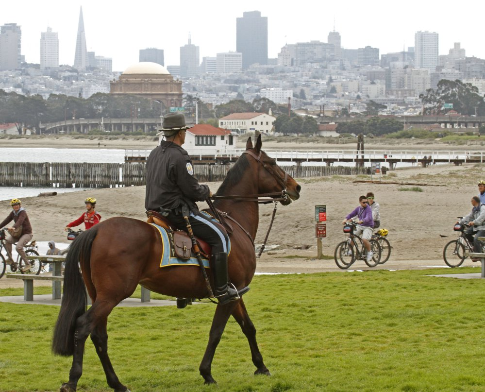 A federal park along San Francisco Bay, Crissy Field will be the site of a Saturday rally by the Patriot Prayer group, opposition by Democratic politicians notwithstanding.