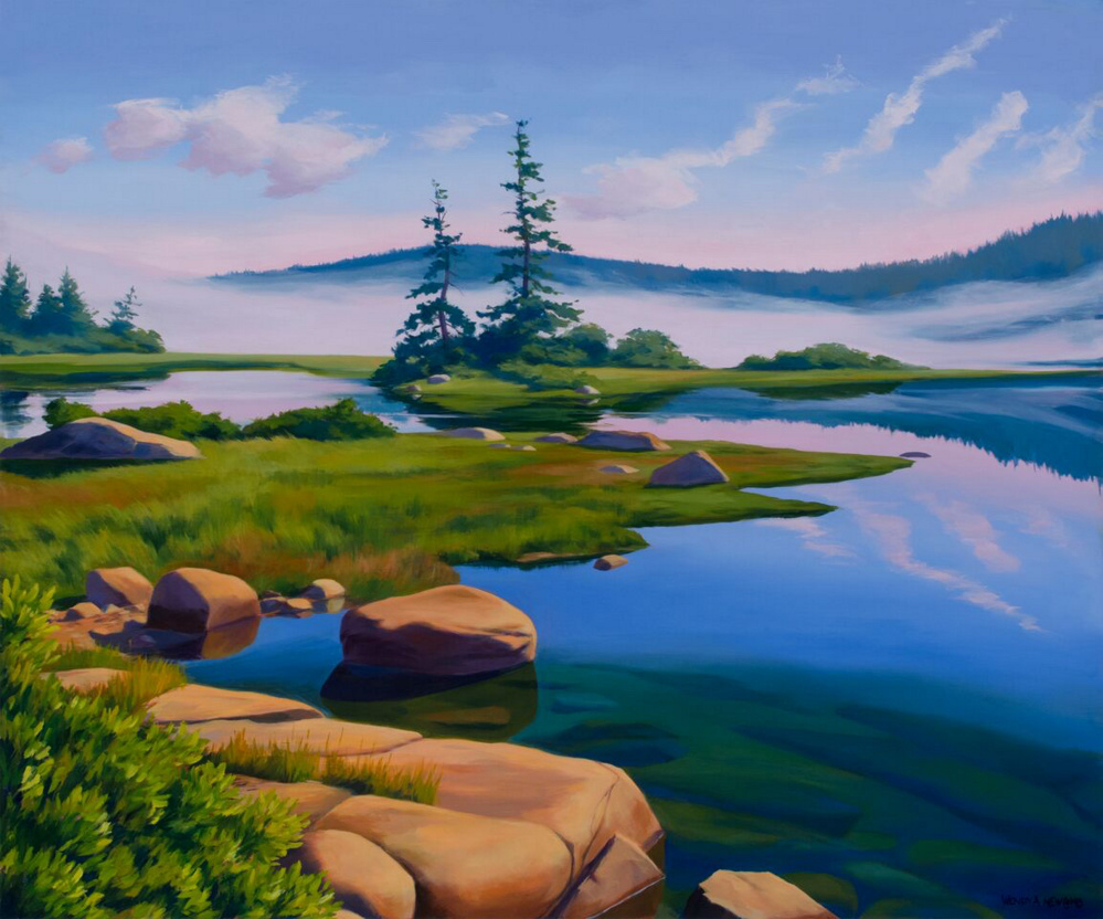 """Basin Mist"" by Wendy Newcomb"
