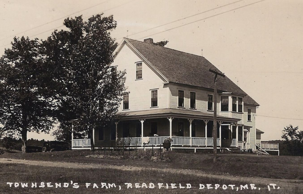 "Townsend Farm on Tallwood Peninsula was established by Linwood and Myrtle Townsend in 1903. Through the next decade their clientele expanded and they decided to increase capacity. In 1913 the couple built a 20-room, three-story home. When the Townsends guest rooms became full, the owner of nearby Beaver Brook Farm agreed to accept their overflow, so that farm also evolved into a tourist home known by various names over the years — lastly as ""Rourke's Tourist Home."" Townsend Farm was operated by members of the Townsend family until the 1950s."