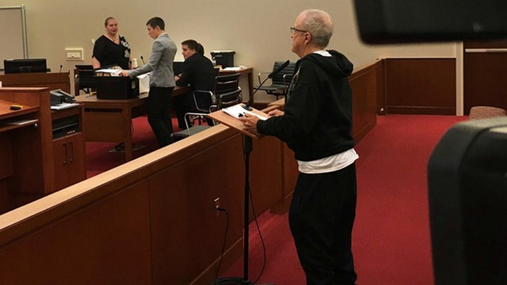 Charles Manning, 74, appeared in court Monday to request an attorney and a jury trial for charges of misdemeanor assault and obstruction of government operations following a June incident in which he allegedly tossed live bedbugs at a city worker in Augusta.