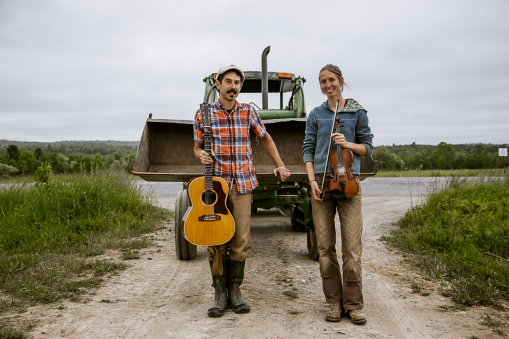 Sassafrass Stomp, the husband and wife duo of Adam Nordell and Johanna Davis, will perform a benefit concert from 6 to 9 p.m. Saturday, Aug. 12, at Pumpkin Vine Family Farm in Somerville.