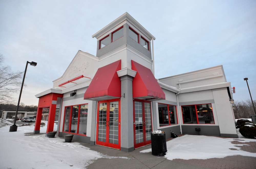 The former Friendly's Restaurant on Main Street in Waterville on Jan. 23, 2016. Five Guys Burgers and Fries has signed a lease to occupy the building, according to parcel owner Andy Rosenthal. The company is advertising for managers on Indeed.com.