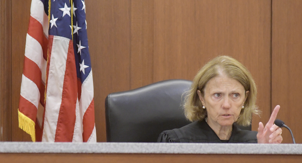 Justice Nancy Mills on Monday moved a hearing for Robert Lonardo, who is appealing a life sentence for the 1994 murder of Marianne Pembrook, to the Maine State Prison, where Lonardo is serving his sentence.