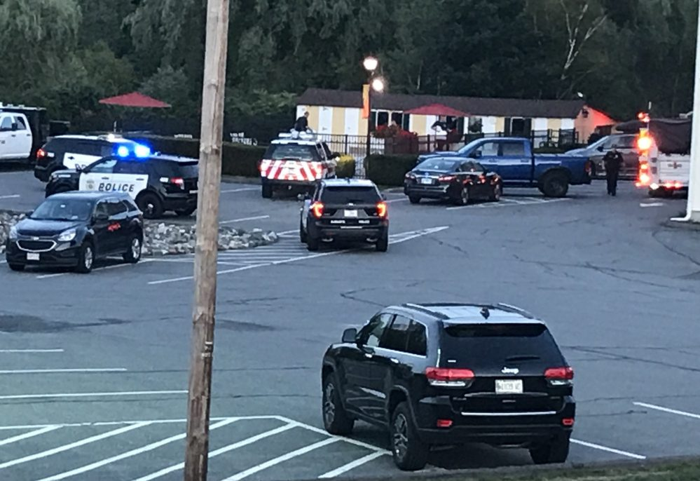 Augusta police and Augusta Fire and Rescue were at the Quality Inn on Whitten Road, where according to emergency radio traffic, a woman was found at the bottom of the pool.