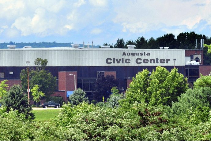 The parking lot at the Augusta Civic Center will be the site of a Saturday fundraiser to help the victims of Hurricane Harvey.