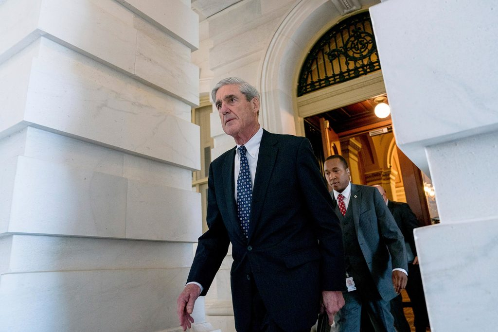 Special Counsel Robert Mueller, seen June 21 in Washington, is using a grand jury in the investigation into potential coordination between the Trump campaign and Russia, according to a person familiar with the probe. The use of a grand jury, a standard prosecution tool in criminal investigations, suggests that Mueller and his investigators are likely to hear from witnesses and demand documents in the coming weeks.