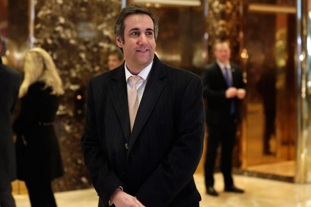 Michael Cohen, a top executive of the Trump Organization, sought the help of an aide to Russian President Valdimir Putin to advance Donald Trump's business interests in Russia during the presidential campaign, documents show.