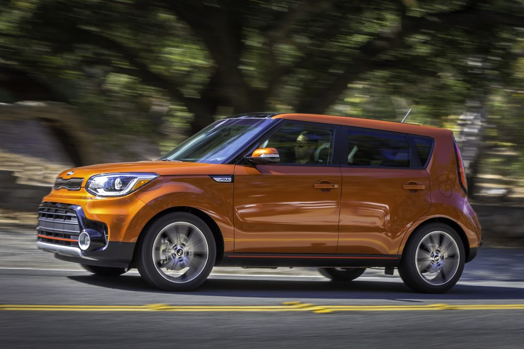 The 2017 Kia Soul Turbo is zippy corner to corner and around city streets.