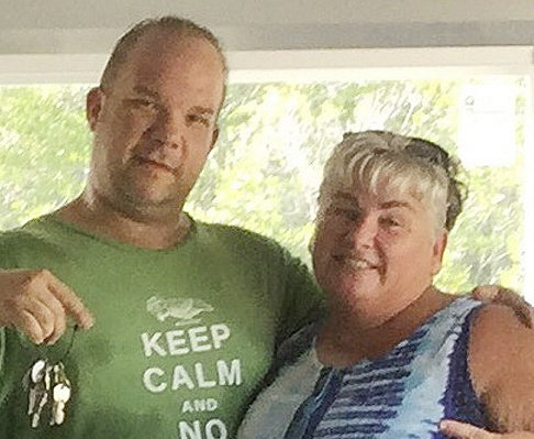 "Former Mainers Brian ""Hoss"" Coddens and Deena ""Mary"" Eskew, who live in Key West, Fla., are still struggling from the effects of Hurricane Irma."