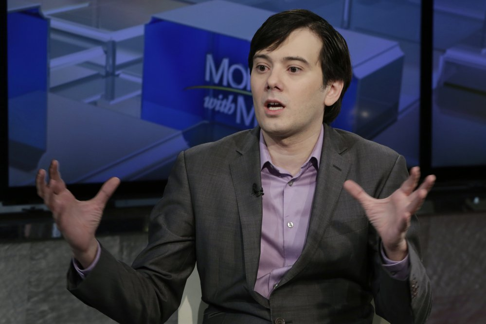 Former pharmaceutical CEO Martin Shkreli has been sent to jail for offering online to pay $5,000 for a lock of Hillary Clinton's hair.