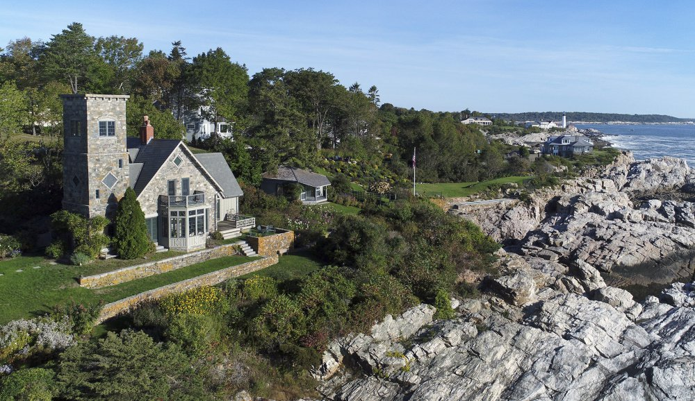 Beckett's Castle, a stone Gothic landmark on the coast of Cape Elizabeth, has been listed for sale with an asking price af about $3.4 million.