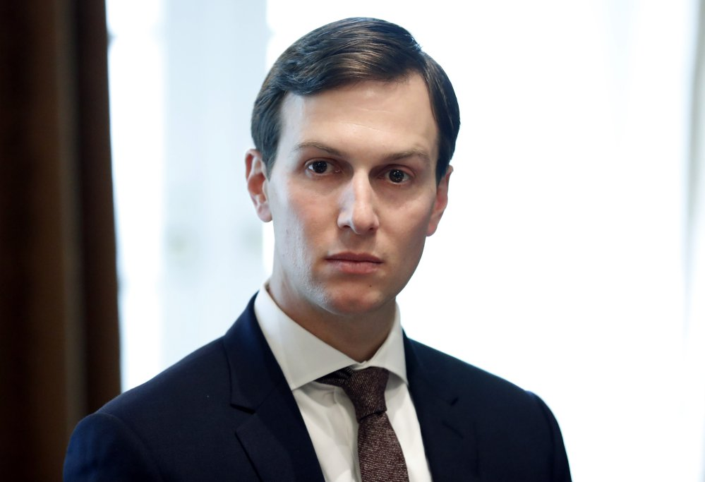 White House Senior Adviser Jared Kushner, seen at the White House on Sept. 12, reportedly used a private email account after the election for work-related matters.