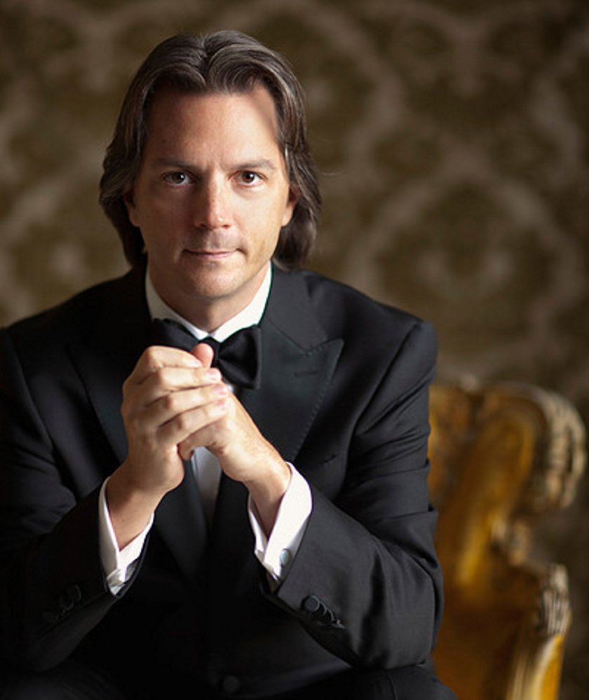 Daniel Meyer, music director of the Asheville Symphony and the Erie Philharmonic