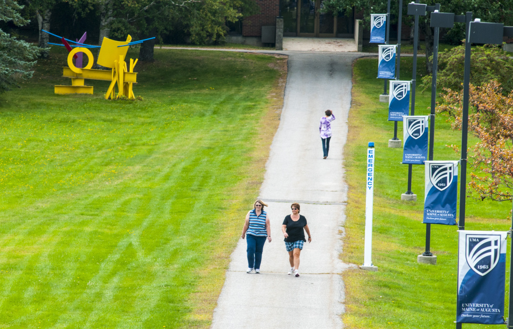 The University of Maine at Augusta on Monday announced a new community engagement plan designed to refine the school's mission.