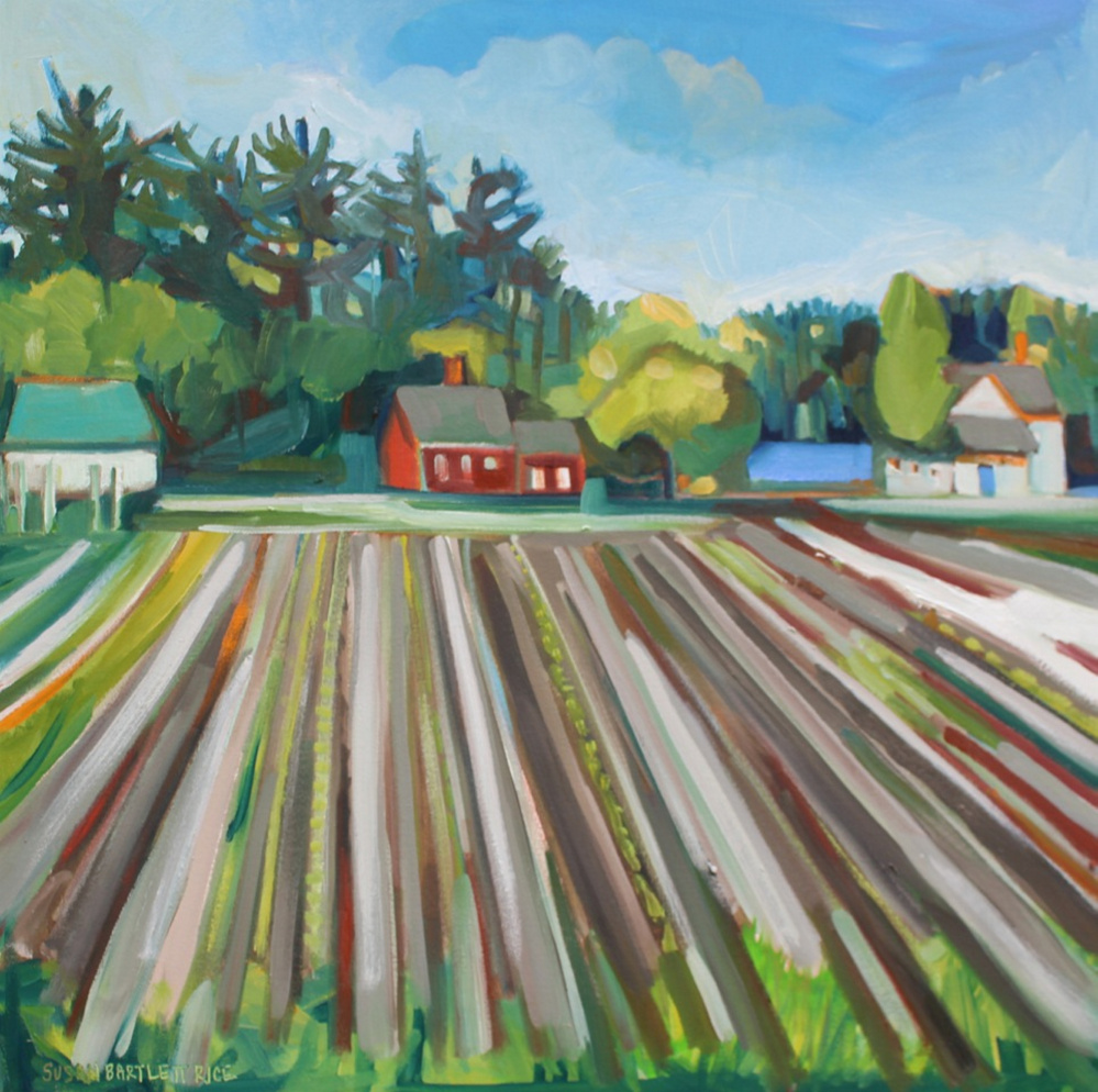 "Contributed photo   ""Tarbox Start,"" by Susan Bartlett Rice, oil on canvas."