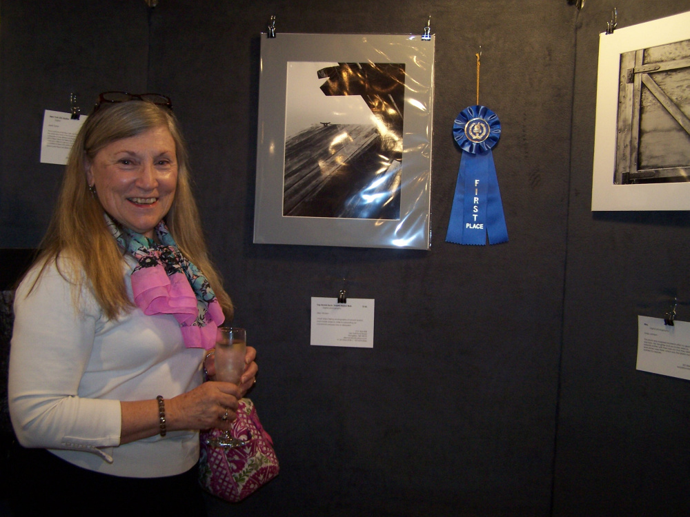 Contributed photo   Allen Wicken won first place in the black and white division of the Western Mountain Photography Show.