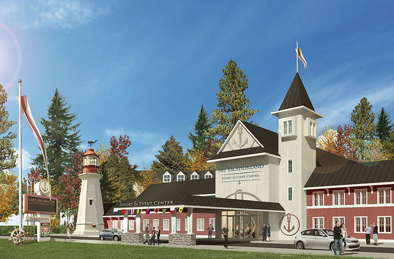 Yes on One drawing of proposed York County casino.