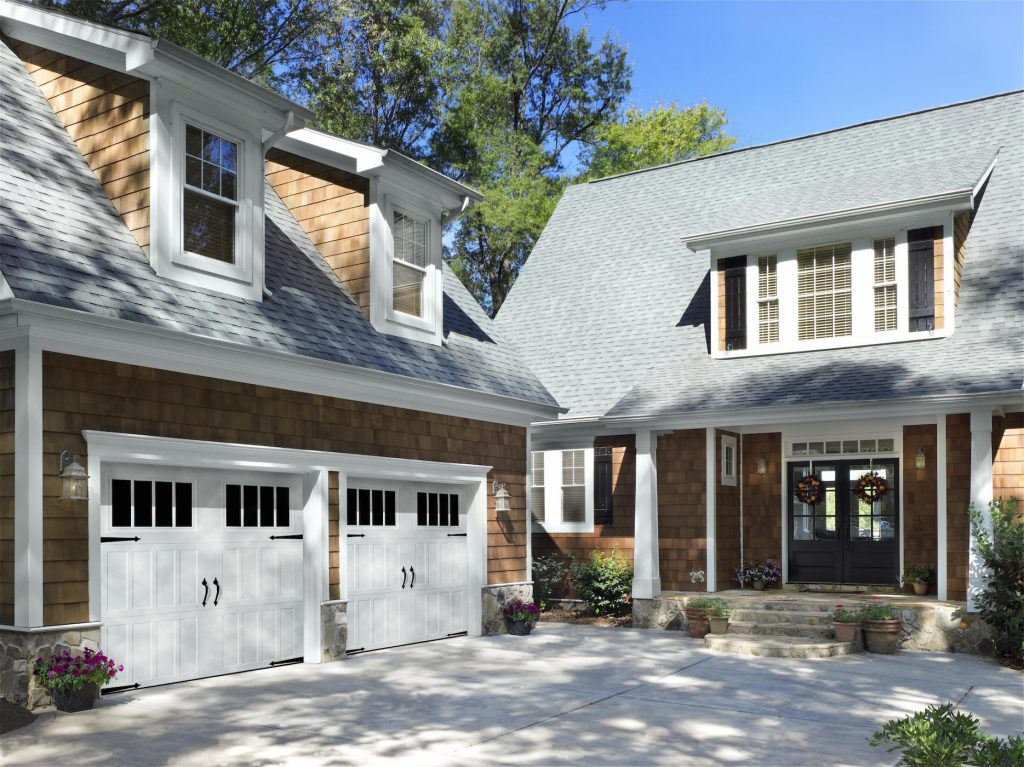 Studies have even proven that your garage door design can affect the appraisal value of your home.