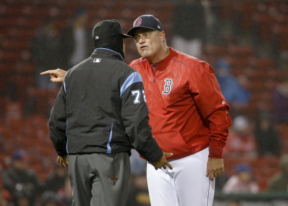 Manager John Farrell has won a World Series and led Boston to the AL East title last year, but was fired by the Red Sox Wednesday.