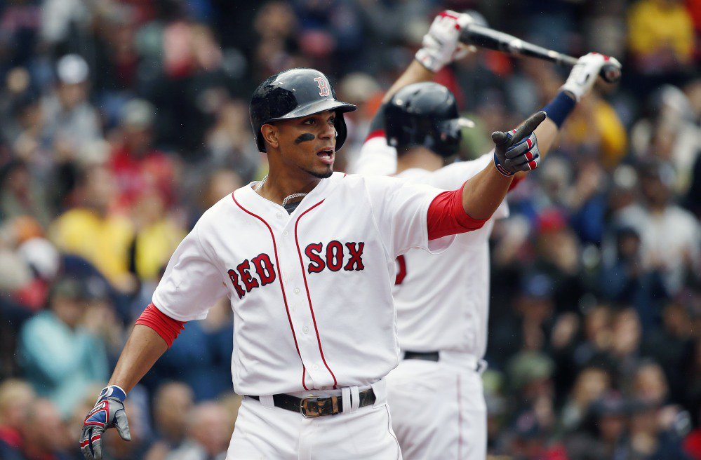 Xander Bogaerts, at 25, is one of Boston's young players will playoff experience. This will be his third time playing in the postseason.