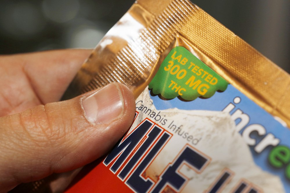 Manufacturers say they've had a year to prepare for a ban on pot products shaped like candy and don't expect any trouble complying with the deadline.
