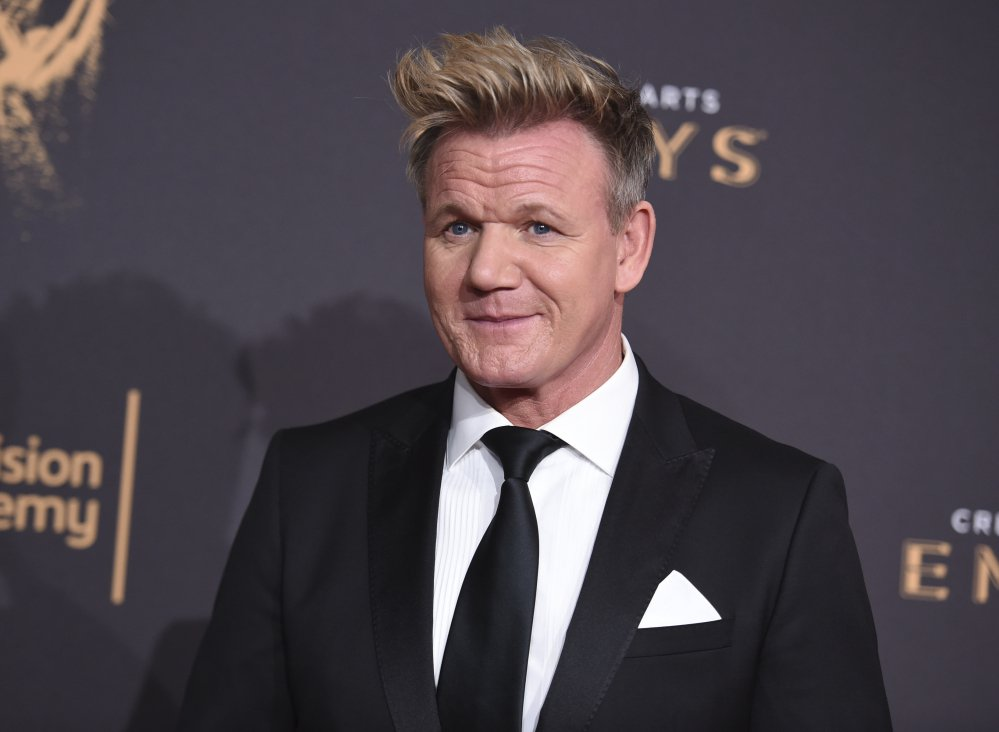 Gordon Ramsay's spokeswoman told the AP that an article from a hoax site that claimed Ramsay declined service to NFL players at one of his restaurants was