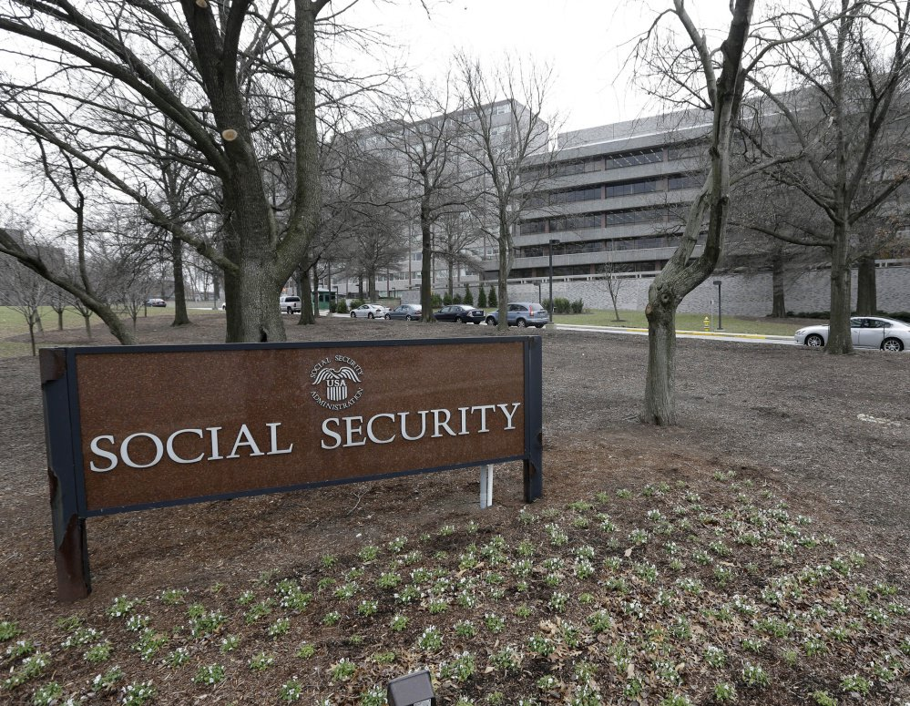 The Social Security Administration's main campus is seen in Woodlawn, Md. Millions of Social Security recipients and other retirees can expect another small increase in benefits in 2018.