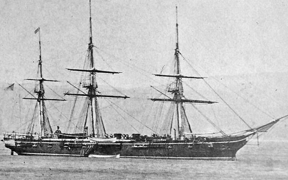 Emile Lejeune was a crew member on the USS Plymouth on June 6, 1876, when he rescued a civilian who fell off a wharf.