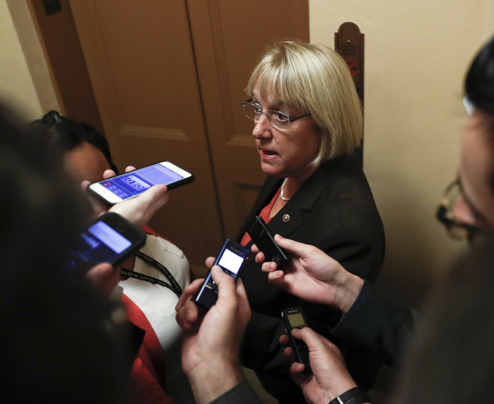 Sen. Patty Murray, D-Wash., on Friday rejected a White House effort to change a bipartisan agreement on health care. Associated Press photo
