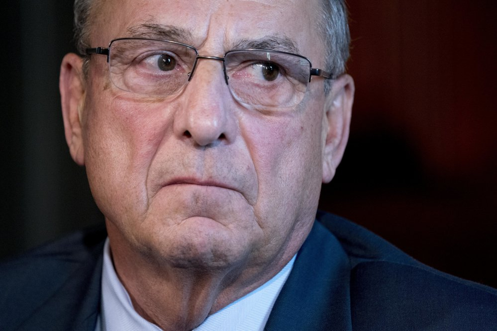 In September, Gov. Paul LePage nominated five judges for reappointment, but he withdrew the nominations Sunday without explanation.