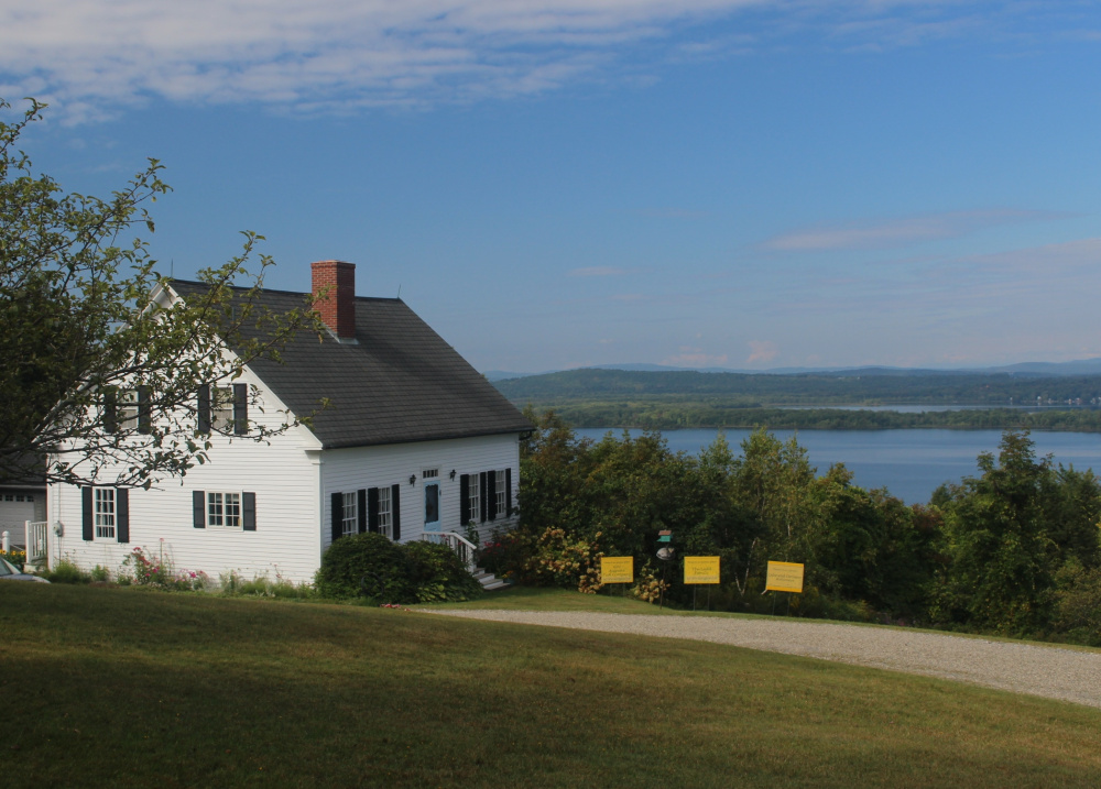 Peter Ault's home, the most popular stop on the tour, is on Morrison Heights with a view of Androscoggin Lake in Wayne.