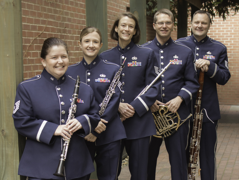 The Heritage Winds, the woodwind component of the USAF Heritage of America Band, will present a free concert at 3 p.m. Oct. 15 at the RFA Lakeside Theater in Rangeley.