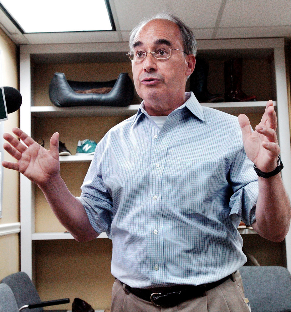 U.S. Rep. Bruce Poliquin, R-2nd District, is among the targets of a new advertising blitz by the Democratic Congressional Campaign Committee.
