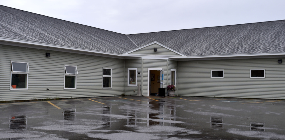The Humane Society Waterville Area, pictured here Friday, has been closed since Sunday because of a feline distemper outbreak at the facility, which is on Webb Road in Waterville.