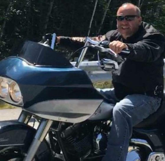 James Bickford, 51, of Pittston, seen in this photo contributed by his family, died following a motorcycle crash in Augusta on Sunday evening.