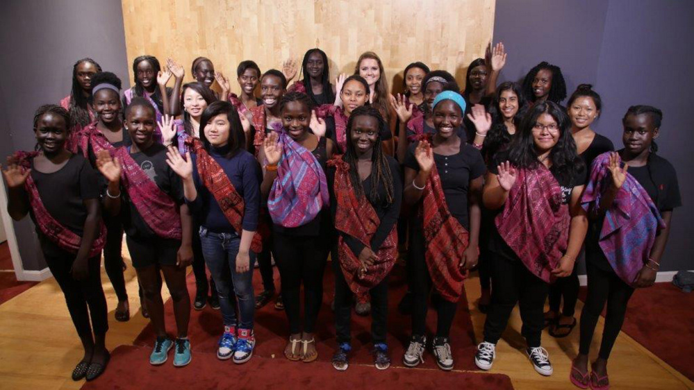 Pihcintu Multicultural Chorus, a Portland-based girls' chorus comprised almost entirely of refugee immigrants, has shared a message of inclusion and unity by performing their music and telling stories of the many hardships they have faced as refugees.