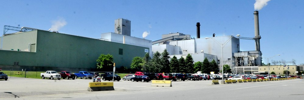 Assessors' agent Bill Van Tuinen recommended assessing the Sappi Somerset mill in Skowhegan, shown in 2015, at $371 million this year.