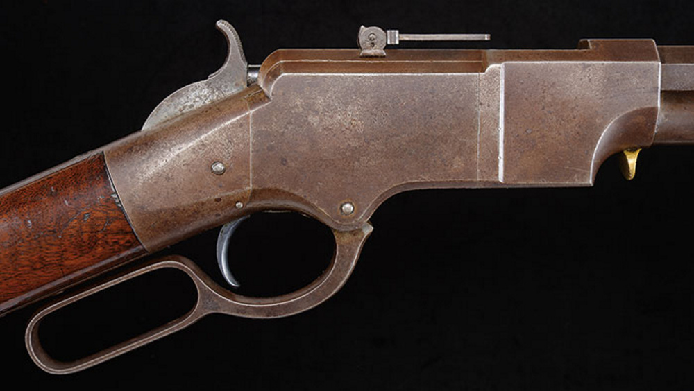 "James D. Julia Auctioneers estimates this high condition Winchester Model 1873, a ""1 of 1000"" lever action rifle, may command a price between $250,000 and $400,000."