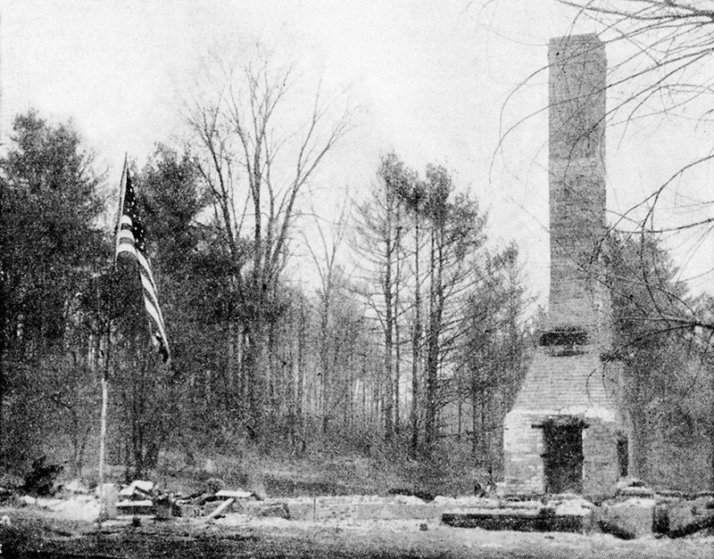 This photo, originally published in the Portland Press Herald in 1947, was seen again in the Portland Sunday Telegram on Nov. 19, 1950, when Beverly Abbott, then 16 and of Goodwin's Mills, wrote a story that shed light on a mystery about which local residents could only speculate until then.