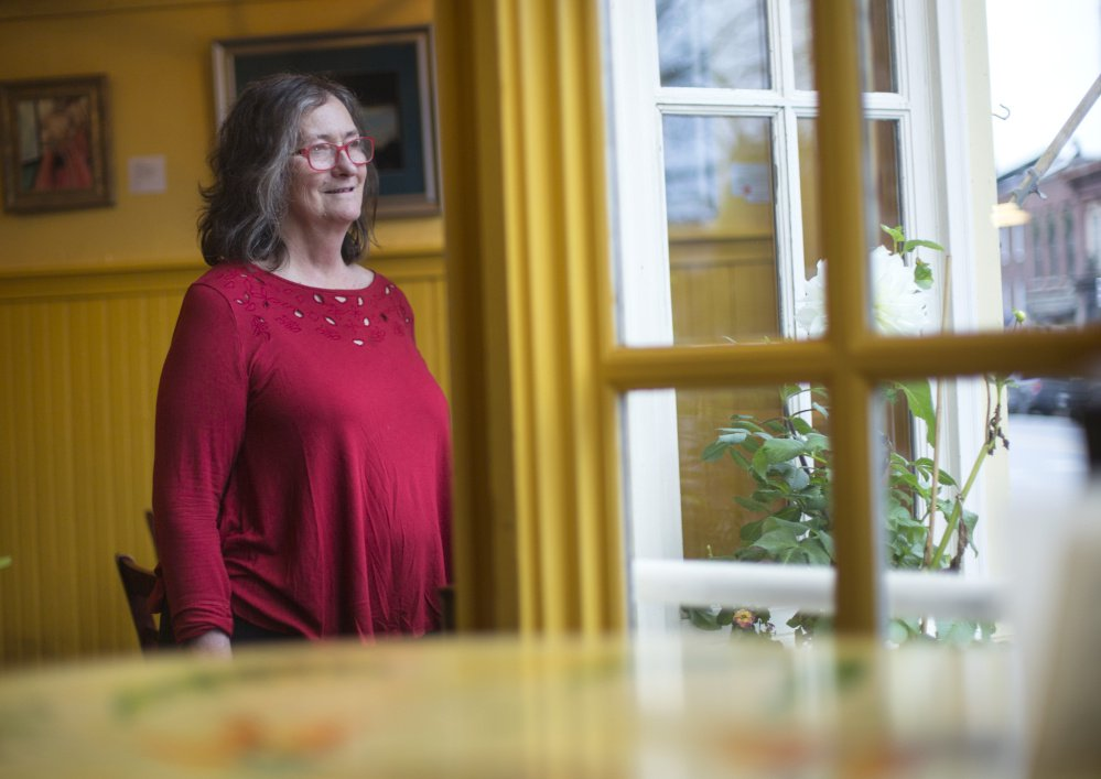 Wendy Larson, chef-owner of Slates Restaurant & Bakery in Hallowell, signed onto an amicus brief for a U.S. Supreme Court case, saying,