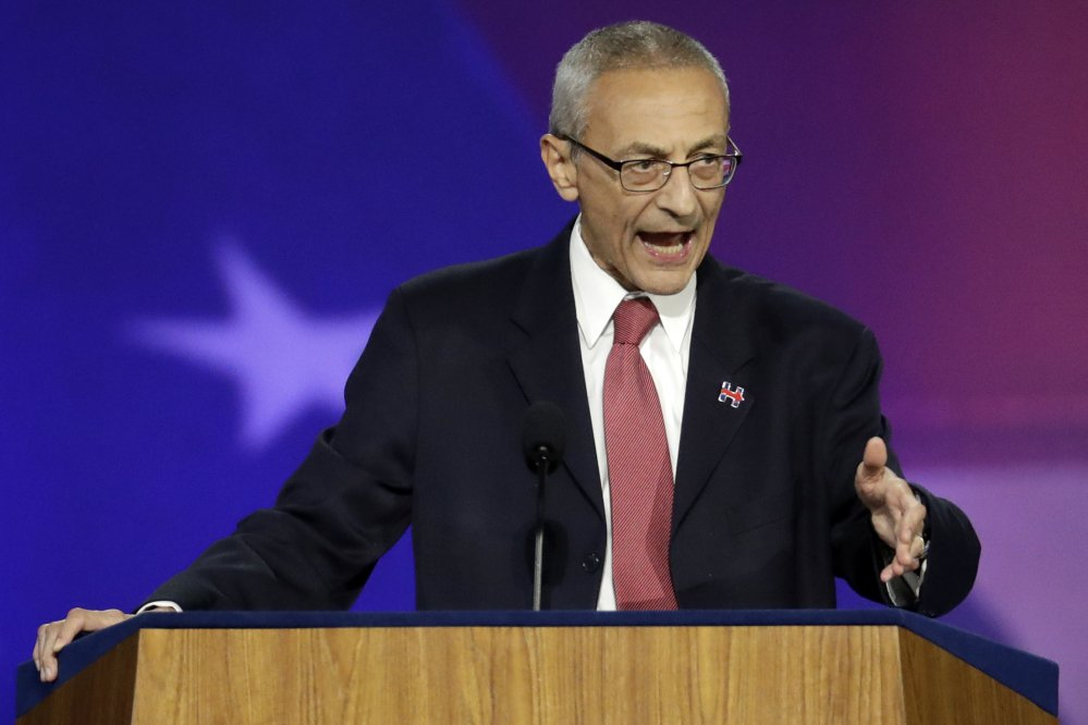 Logs gathered by a cybersecurity company suggest it took the hackers just over a week of work to zero in on and penetrate the personal Gmail account of Clinton campaign chairman John Podesta, shown here in 2016.