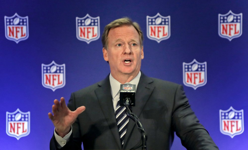 A viral online story claims that Roger Goodell had been ousted as NFL commissioner. It's not true.