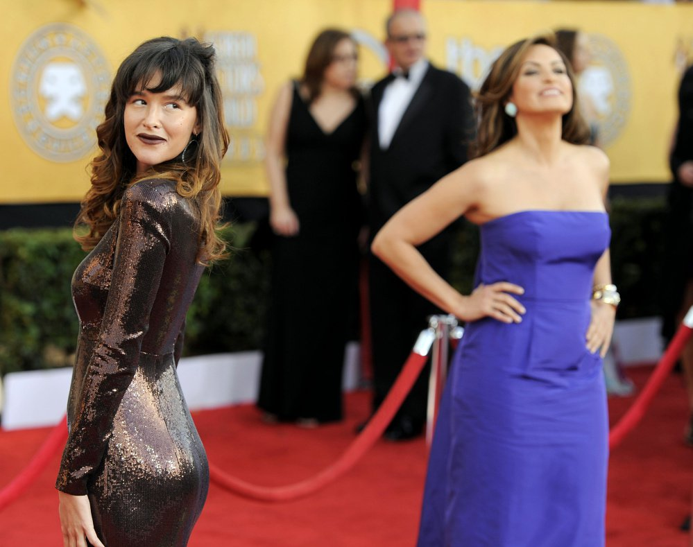 Paz de la Huerta, left, alleges that Harvey Weinstein, above, assaulted her in October and December 2010, but she initially didn't come forward because she feared no one would take her accusations seriously.