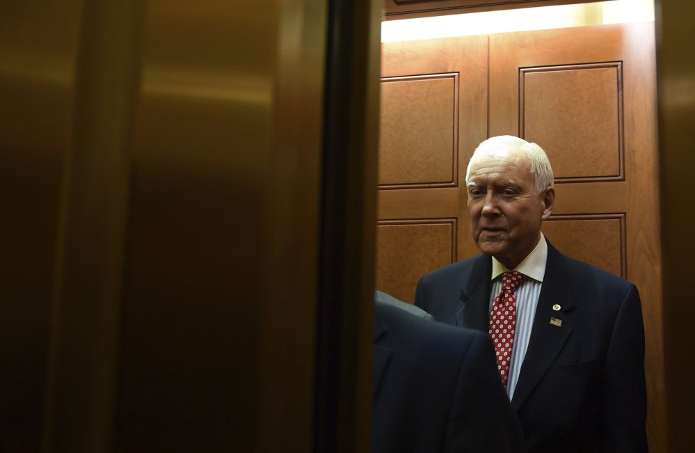 Senate Finance Committee chairman and Utah Republican Orrin Hatch plans to release his version of the Republican tax proposal by the end of the coming week.