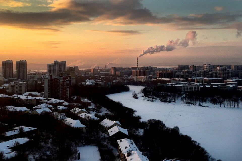 A city near the Ural Mountains in Russia, where the French believe a radioactive cloud was released in September.