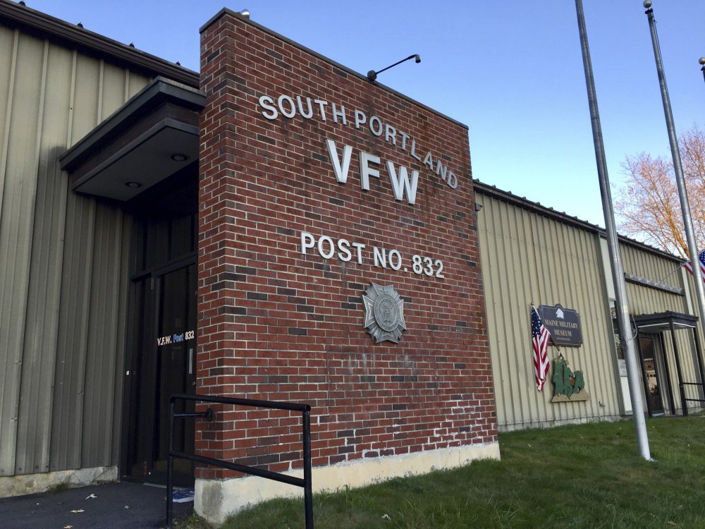 """VFW Post No. 832 has vacated the building it once owned, at 50 Peary Terrace. """"We cut back on everything"""" but it wasn't enough, said Stephen Doyle, 70, the post commander."""