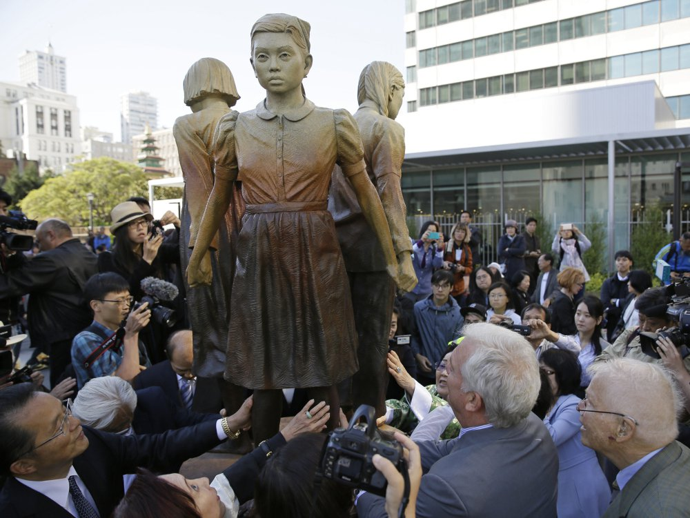Osaka, Japan, says it's ending the 60-year sister-city partnership with San Francisco after a statue of 'comfort women' was given city property status.
